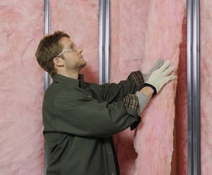 Eco Touch Steel Studs Insulation Installation