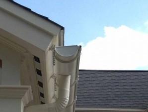 half round gutter anderson insulation