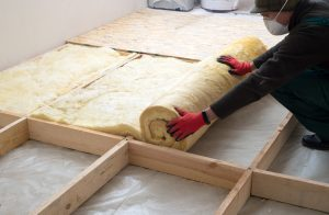 New Insulation Being Laid