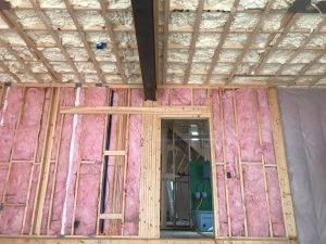 Fiberglass, cellulose and spray foam insulation