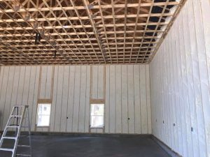 New spray Foam Insulation in walls